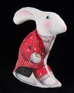 Red Coat -Alice White Rabbit Velvet Sewing Project Kit
