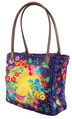 Sewing Project Kit-Enchanted velvet Purple Bag