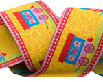 """1 1/2"""" Yellow Gypsy Roulotte"""