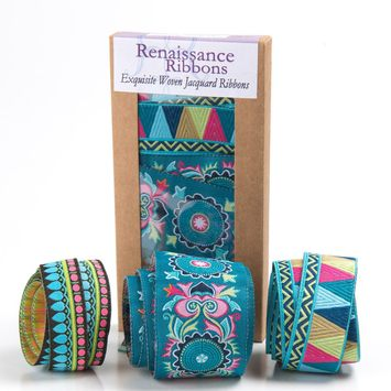 Ribbon Box Mantra Turquoise picture