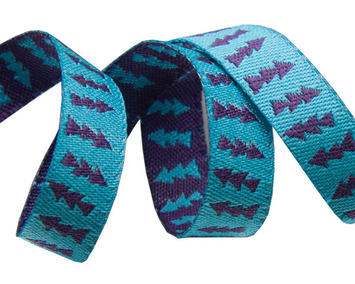 "3/8"" Reversible Turquoise & Purple Arrows 3/8"" - Sue Spargo picture"