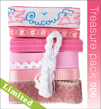 Ribbon Treasure Pack - Baby Pink picture