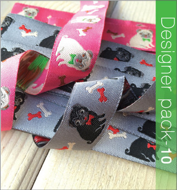 Designer Pack - Pug Ribbon picture