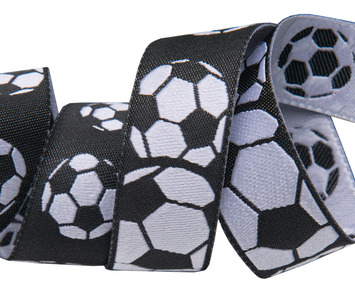 "7/8""-Soccer Balls Black & White- by Raphael Kerley picture"