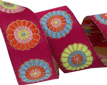 "5/8"" Turkish Flowers - Kaffe Fassett picture"