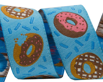 "7/8"" - Donuts on Blue 7/8"" by Raphael Kerley picture"