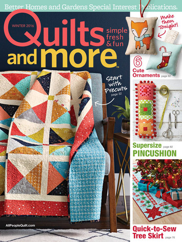 Ribbon Kit-MagazineOnPoint Pillow -Winter2016 picture