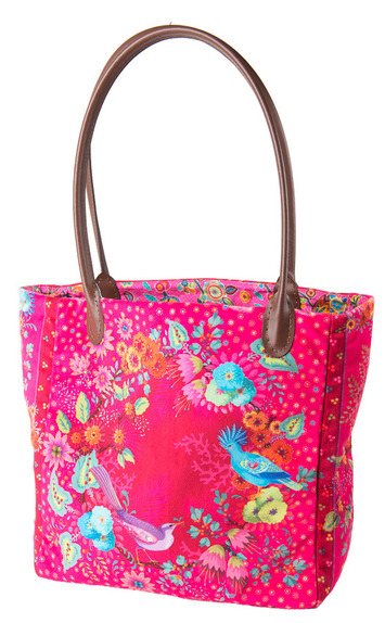 Sewing Project Kit-Enchanted velvet Pink Bag picture