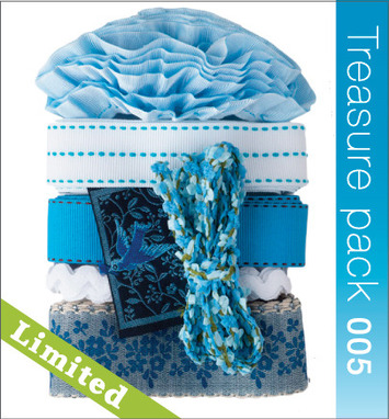 Ribbon Treasure Pack - Baby Blue picture