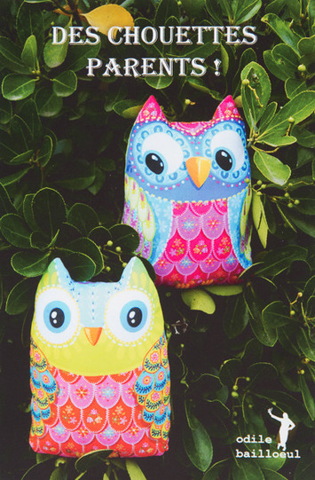 Sewing Project Kit-Owls Parents - cotton fabric picture