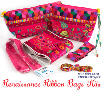 Kit RR bag-Enchanted Pink- makes 2 bags picture