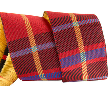 "1 1/2""- Red Woven Plaid by RR picture"