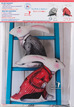 Red Coat -Alice White Rabbit Velvet Sewing Project Kit additional picture 3
