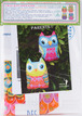 Sewing Project Kit-Owls Parents - cotton fabric additional picture 6