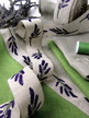 "1-5/8"" Linen Lavender Magenta/white additional picture 3"