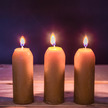 12-Hour Beeswax Candles, 3-Pack for Candle Lanterns additional picture 1
