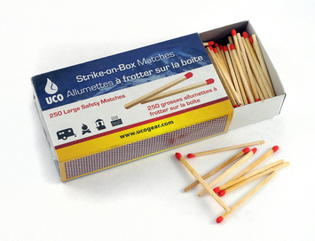Strike-on-Box Matches picture