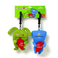 Clip-On Ox & Wedgehead Best Friends 2pcs