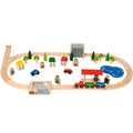 Village Train Set / 50 Pieces