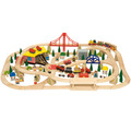 Freight Train Set / 130 Pieces