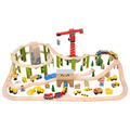 Construction Train Set / 116 Pieces