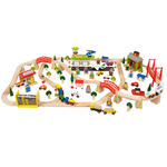 Tranportation Train Set / 124 Pieces