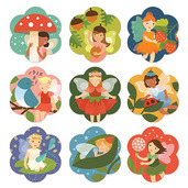 Fairy Friends Memory Game