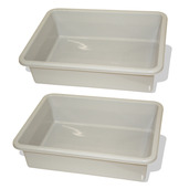 Train Table Drawer (Grey) (Pack of 2)