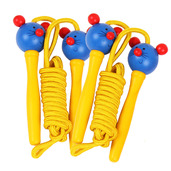 Coloured Skipping Rope (Pack of 2 - Yellow Handle Mouse)