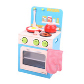 Oven and Stove Set (Blue)