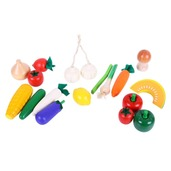 Vegetables in a Net (17 Pieces)