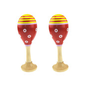 Junior Maracas (One Pair - Red)