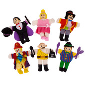 Entertainers Finger Puppets