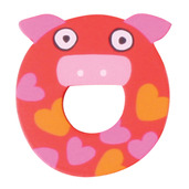 Crazy Animals Letter O (One Supplied - Designs Vary)
