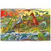 Dinosaur Floor Puzzle (96 Piece)