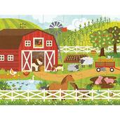 On The Farm Floor Puzzle