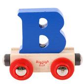 Rail Name Letter B (Dark Blue)