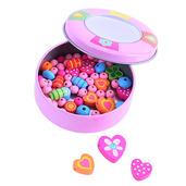 Jewellery Making Set in Tin (Pink)