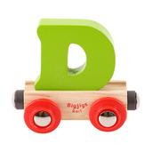 Rail Name Letter D (Green)
