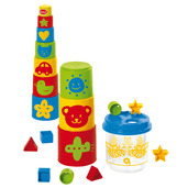 Bee Shape Sorter with Stacking Blocks