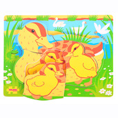 Chunky Puzzle Duck and Duckling