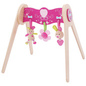 Bella Baby Gym with Soft Plush Toys