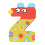 Crazy Animals Letter Z (One Supplied - Designs Vary)