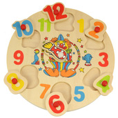 Clown Clock Puzzle