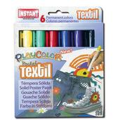 Textil Pocket 5g (Pack of 6 - Assorted Colours)