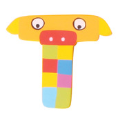 Crazy Animals Letter T (One Supplied - Designs Vary)