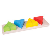 Triangle Fraction Board
