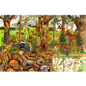 Woodlands Floor Puzzle (96 Piece)