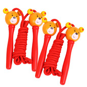 Coloured Skipping Rope (Pack of 2 - Red Handle Bear)