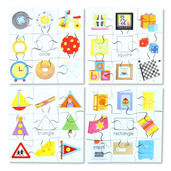 Shapes Puzzles Set 1 (Set of 4)